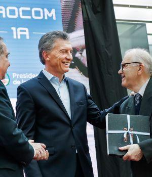 Macri anunció el lanzamiento de un nuevo satélite
