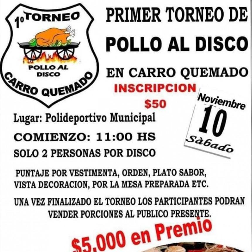 PRIMER TORNEO DE POLLO AL DISCO