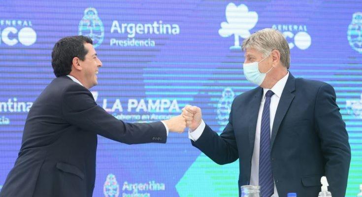 «Los pampeanos nos sentimos más argentinos que antes», dijo Ziliotto sobre el federalismo y las ayudas de Nación