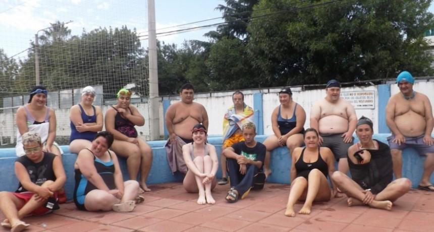 CON ATLETAS OESTEÑOS COMENZÓ LA PRIMERA CONVOCATORIA DEL DEPORTE ADAPTADO