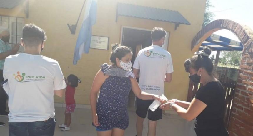 LOVENTUEL: VERIFICAN PROTOCOLO DE COVID EN EL PRO-VIDA
