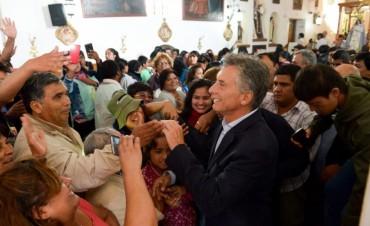 Macri: Por primera vez en cien años logramos que baje el gasto público