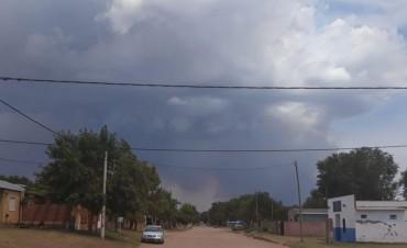 Incendio a pocos km de Telen y cortan la ruta 10