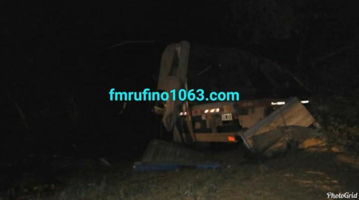 Fallece camionero de Int. Alvear en Accidente