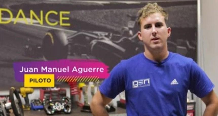 El victoriquense Manuel Aguerre representará a la Argentina en el Campeonato Mundial de Automovilismo Virtual