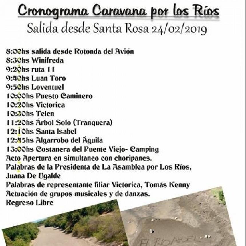 CRONOGRAMA ASAMBLEA DE LOS RIOS