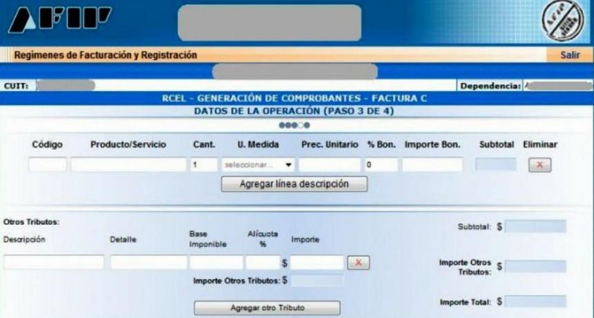 Desde abril, todos los monotributistas deberán emitir factura electrónica