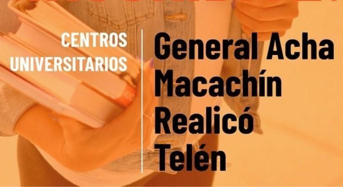 TELEN: SE INSCRIBIERON 92 INGRESANTES EN LAS CUATRO CARRERAS DE LA UNLPAM EN TERRITORIO