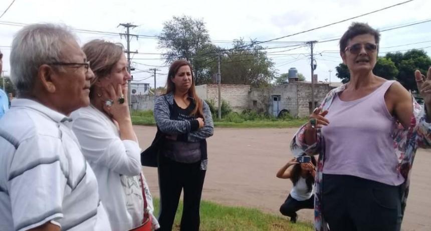 LOS CONCEJALES DEL PJ ACOMPAÑARON LA SECRETARIA DE CULTURA EN VICTORICA