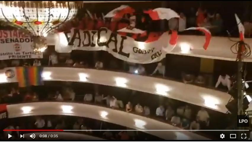 LA UCR CANTO CONTRA MACRI EN LA CONVENCION DE MENDOZA.