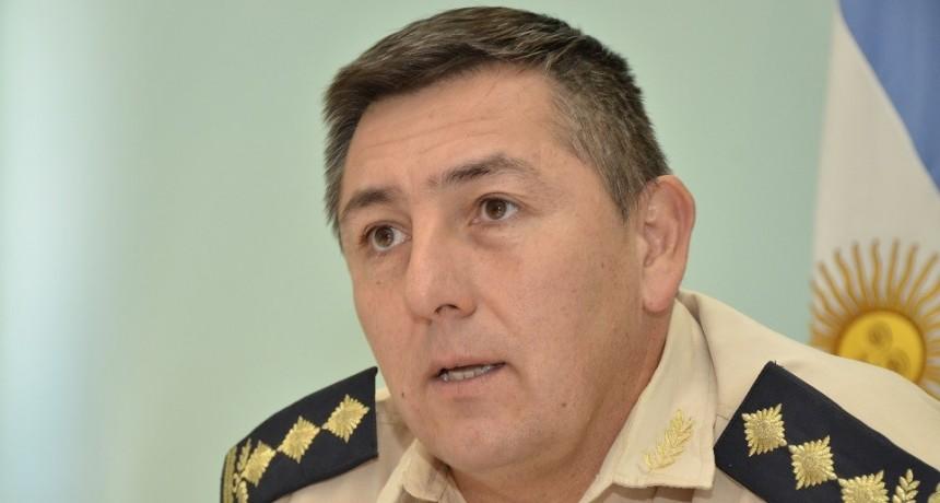 El comisario Giménez fue apartado del cargo