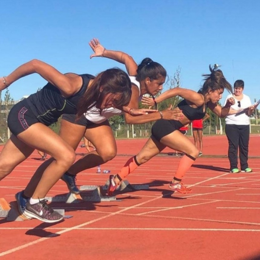 Victoriquenses con buenos resultados en Atletismo