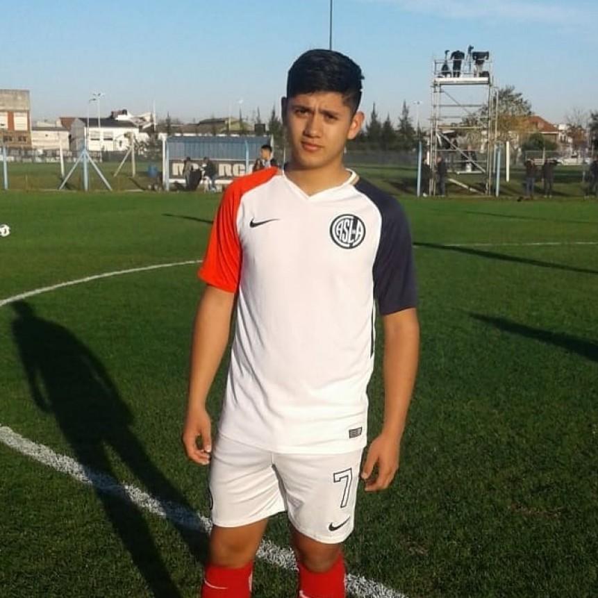 Ezequiel Aranda le dio el triunfo a San Lorenzo
