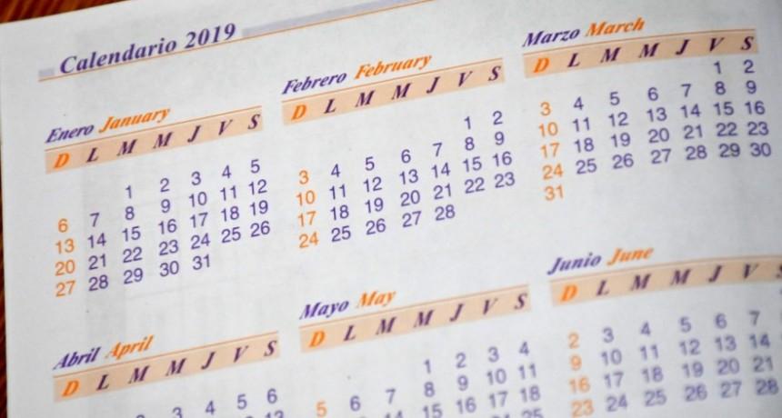 El 24 de marzo y el 2 de abril son feriados inamovibles