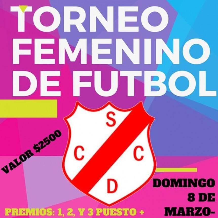 TORNEO FEMENINO DE FÚTBOL EN COCHICO