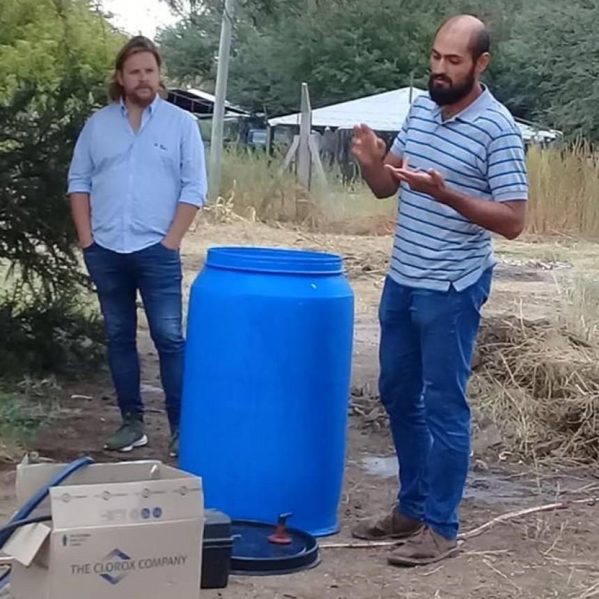 TALLER DE HUERTA AGROECOLOGICA EN VICTORICA