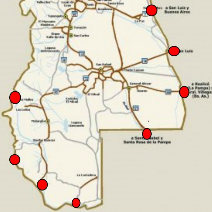 Los mendocinos cierran sus fronteras, todas las personas que lleguen a Mendoza deberán aislarse obligatoriamente