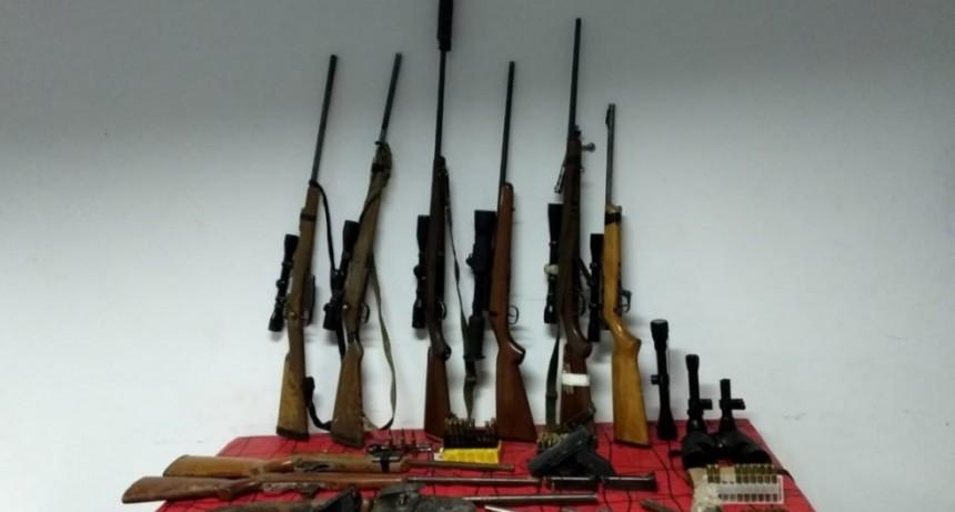 Detienen 9 cazadores pampeanos en la zona de Victorica, secuestran armas y animales