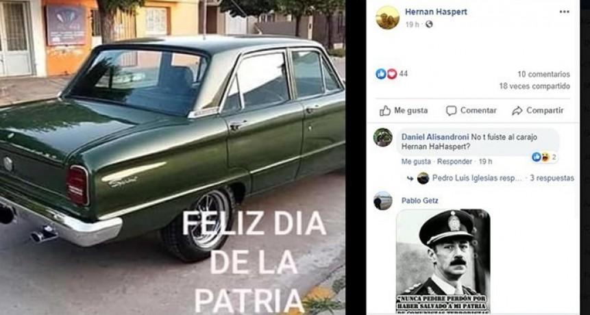 Dirigente radical de Guatraché reivindicó la última dictadura militar