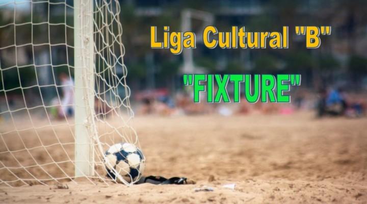 Liga Cultural de Futbol comienza el 6 de Mayo (fixture)
