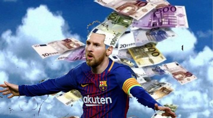 Conocé cuánto gana Messi, el jugador mejor pago del mundo
