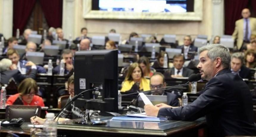 Piden que Marcos Peña brinde detalles de las obras públicas anunciadas en La Pampa