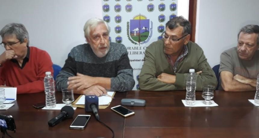 CONFERENCIA DE PRENSA: INFORMACION SOBRE  DEBATE