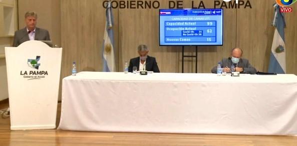 La Pampa: Ziliotto anunció la prohibición de encuentros familiares y sociales en domicilios particulares