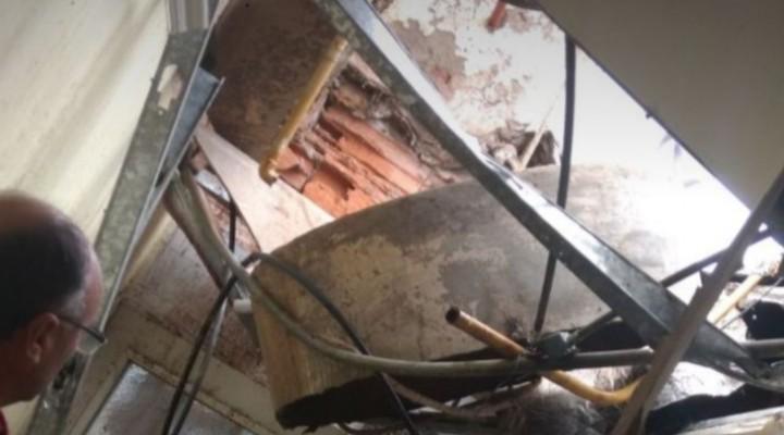 Santa Isabel: Cayeron más de 70 mm, roturas de techos y anegamientos en las calles