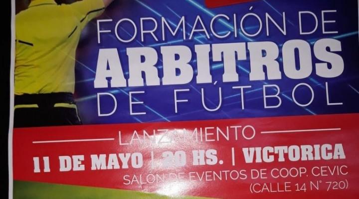 11 de Mayo Lanzamiento del Curso de Formación de Árbitros