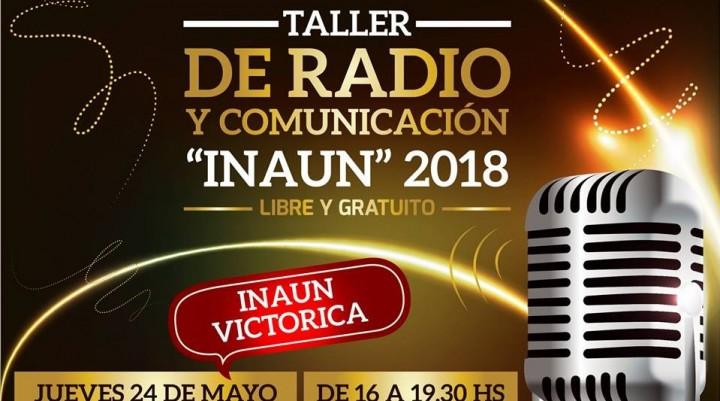 Primer Taller de Radio y Comunicación INAUN 2018