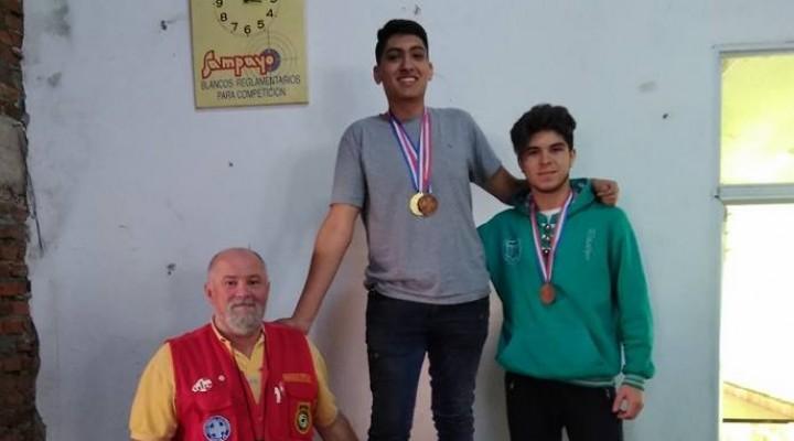 Matías Carranza Campeón en Tiro