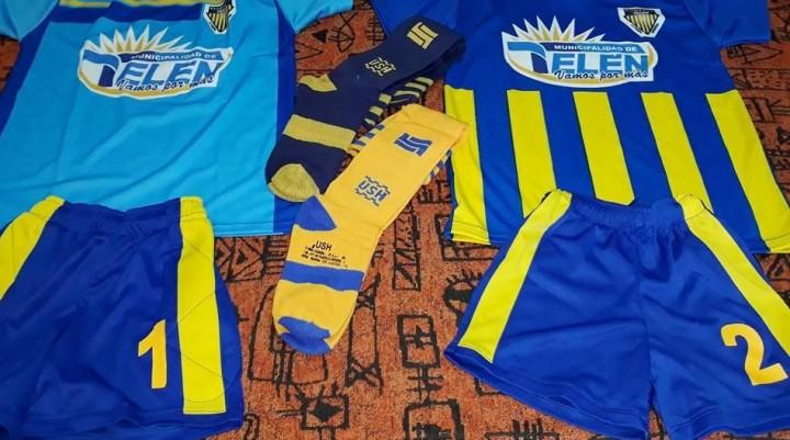 TELEN: La Escuela Deportiva con nueva indumentaria