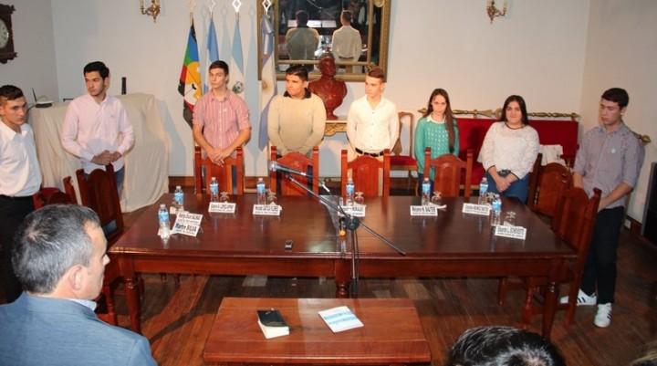 Prestaron Juramento Los Concejales Estudiantiles 2018
