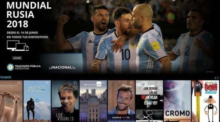 Se podrá ver el Mundial 2018 a través de la plataforma CONT.AR