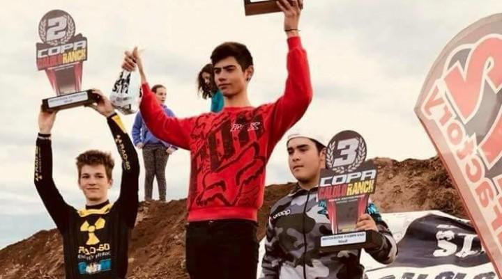 Motocross: Toledano gano en las 2 mangas