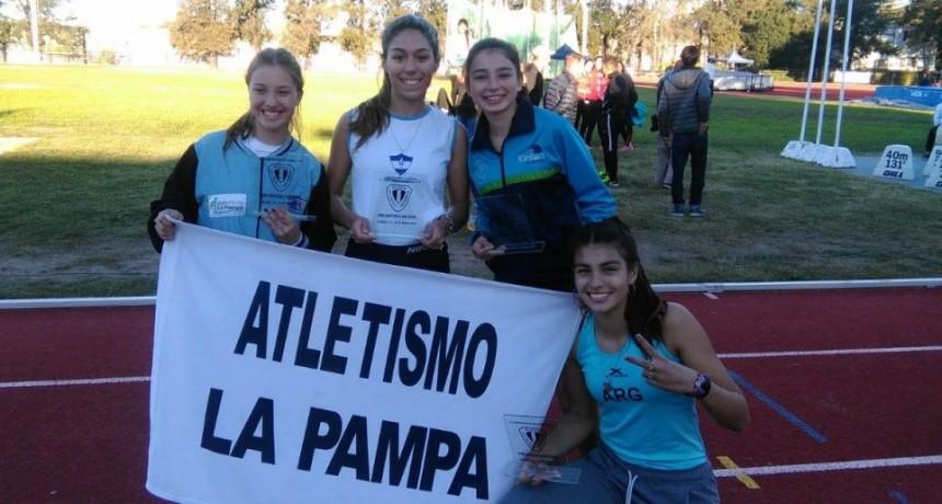 VICTORIQUENSES EN EL CAMPEONATO NACIONAL DE ATLETISMO U18.