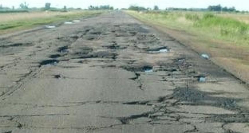 Sin dinero de Nación, paralizan obras de las rutas 35 y 188 y echan a 23 trabajadores
