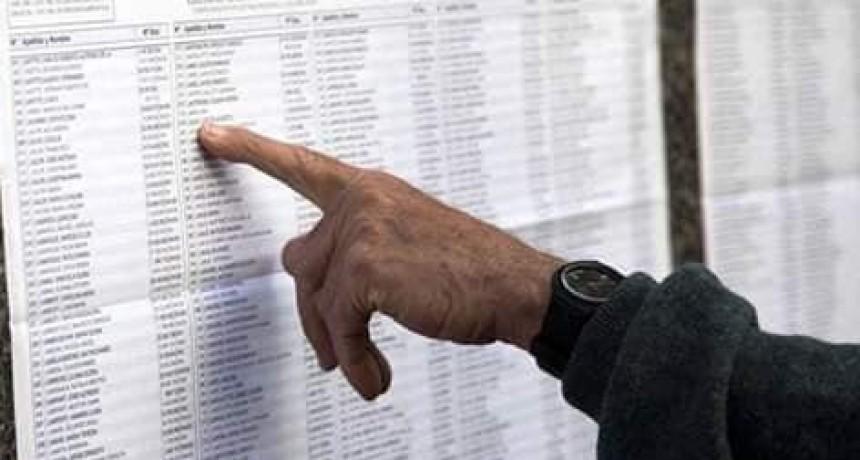 7.751 habilitados para votar en el Dpto. Loventue