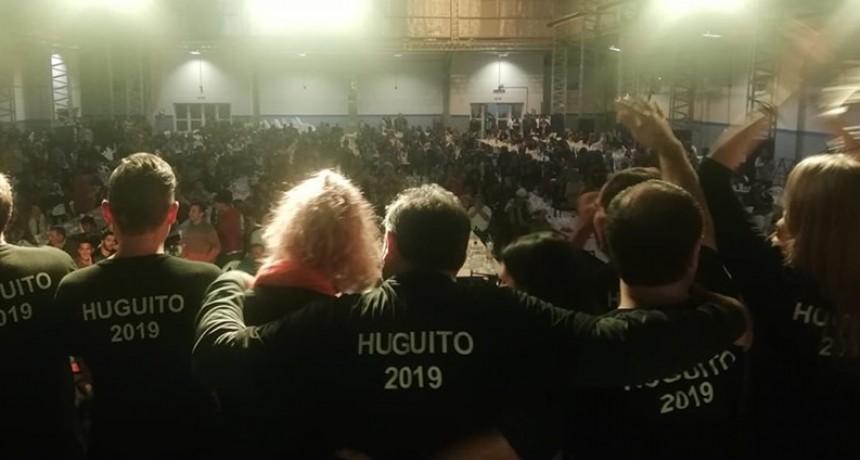 HUGO KENNY EN TRADICIONAL ASADO CERRO SU CAMPAÑA