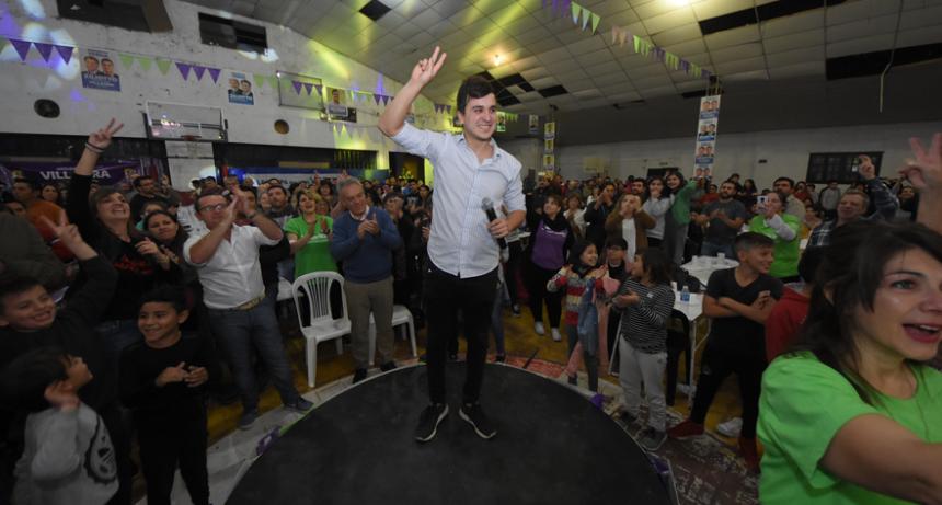 Nosotros estamos convencidos que el Partido Justicialista logró una victoria en Victorica…..M. Villagra