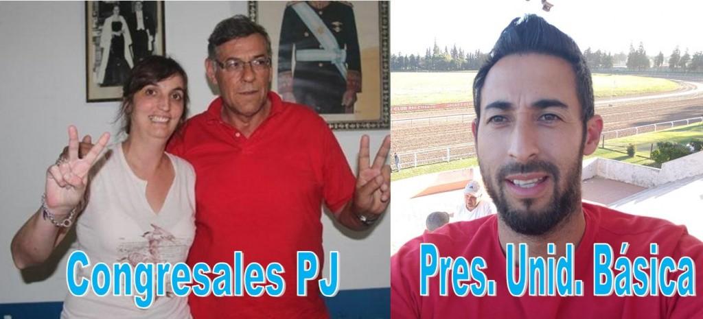 ELECCIONES DEL PJ: MARCOS BRIGNONE PRES. DE LA UNIDAD BÁSICA, LUCHY ALONSO Y JORGE DIAZ CONGRESALES