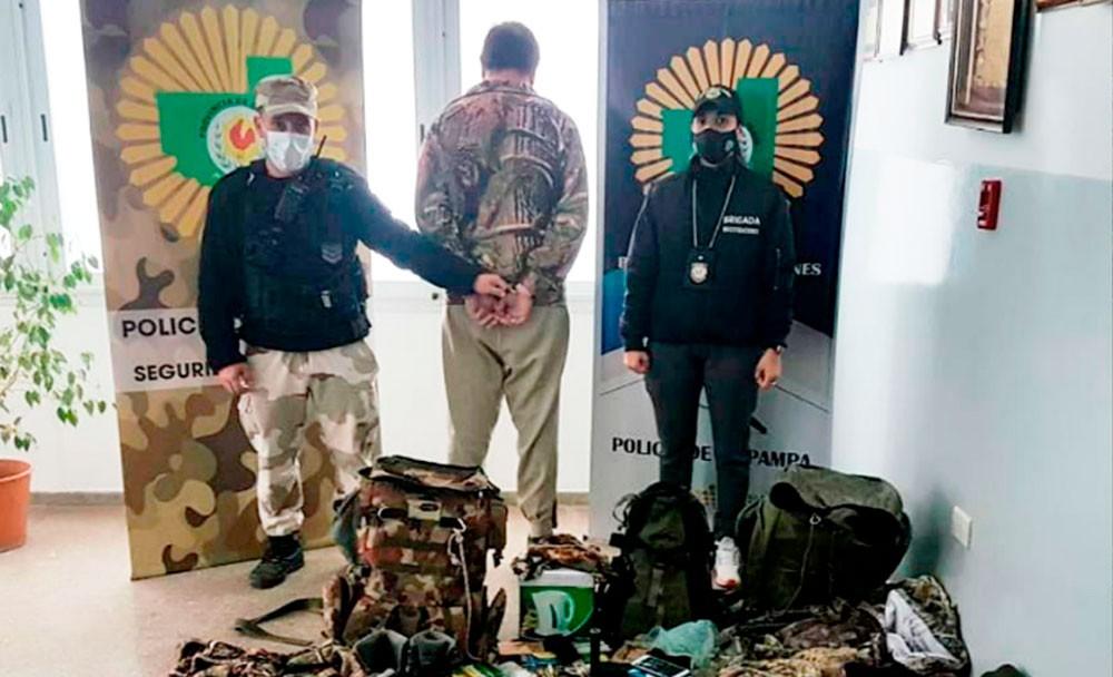 La adrenalina de la caza ilegal: detienen a un guía que vendía excursiones en cotos de La Pampa