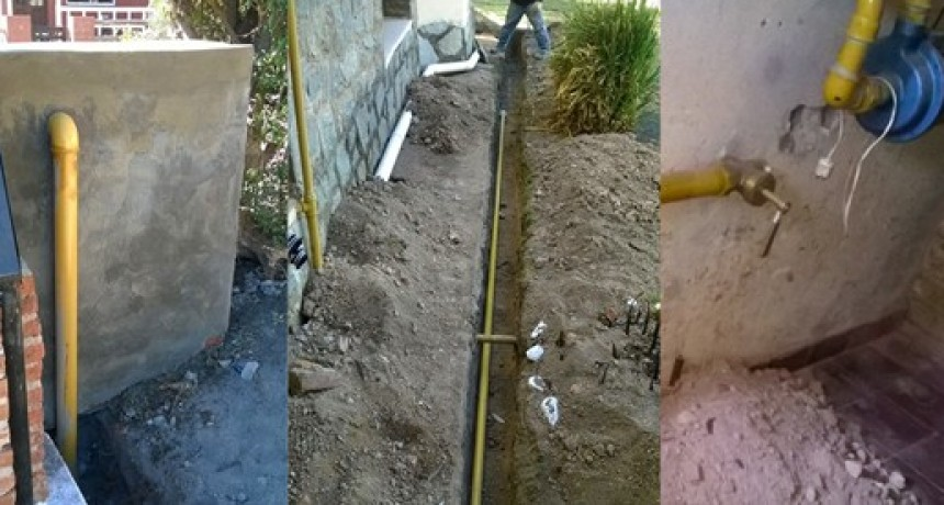 Telen: Municipio instala gas a vecinos