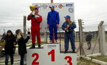 Bruno Campero se subió al podio
