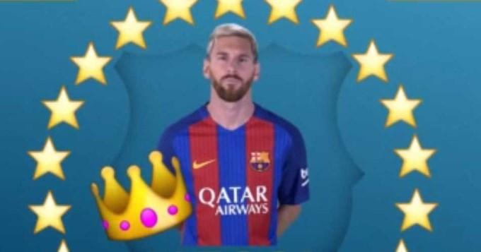 Messi logró un nuevo título: