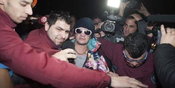 Pity Álvarez se descompensó en la celda previo a su traslado luego de entregarse