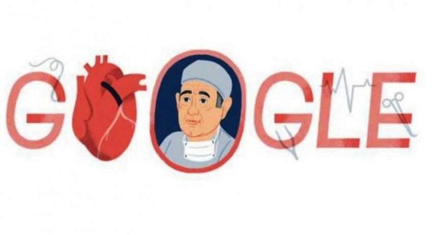 Google homenajea a René Favaloro a 96 años de su nacimiento