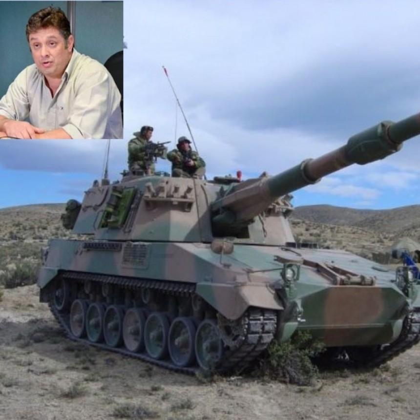 Asado al sur: La Pampa considera «ridícula» la militarización de la barrera