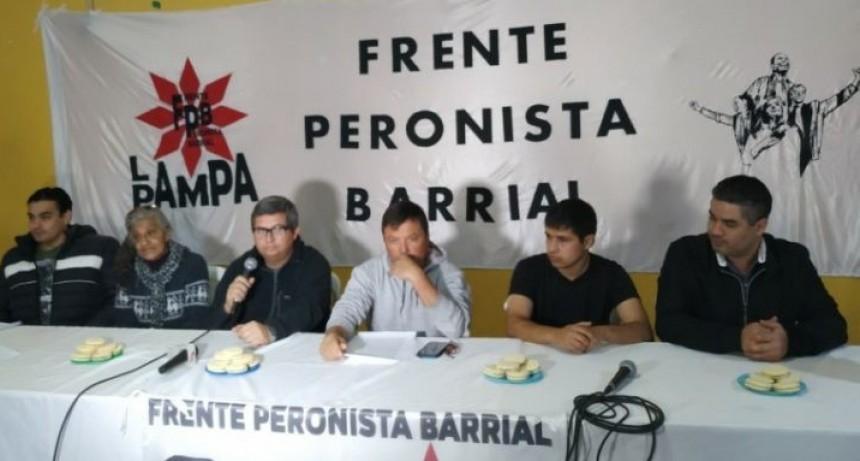 Por la usurpación encabezada por los Avendaño, renunció toda la dirigencia del Frente Peronista Barrial